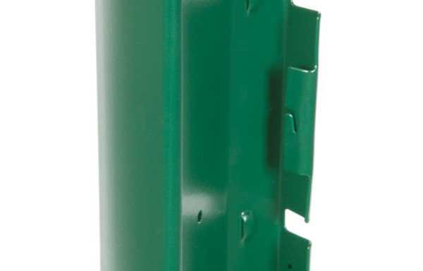 Poteau vert 1.57 m à encoches