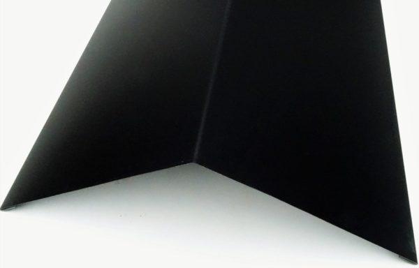 Faîtière plate 9005 noire PROMO