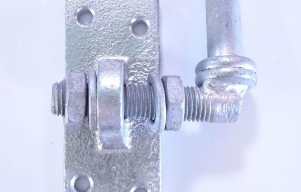 Gond réglable latéral galvanisé diam. 16 mm