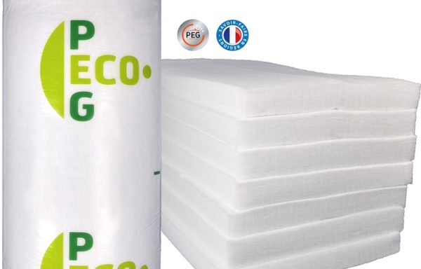 Isolant ouate de polyester recyclé 100 mm