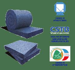 Isolant coton recyclé 100 mm